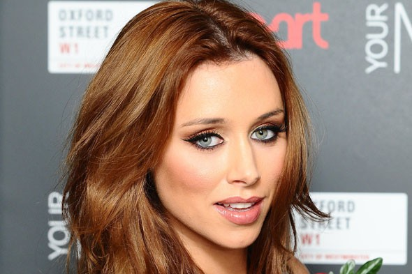 Una Healy and Ben Foden
