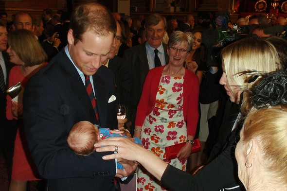 Kate Middleton broody? Duke and Duchess of Cambridge coo over baby at charity event