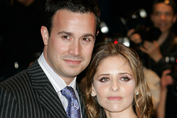 Sarah Michelle Gellar and Freddie Prince Jr