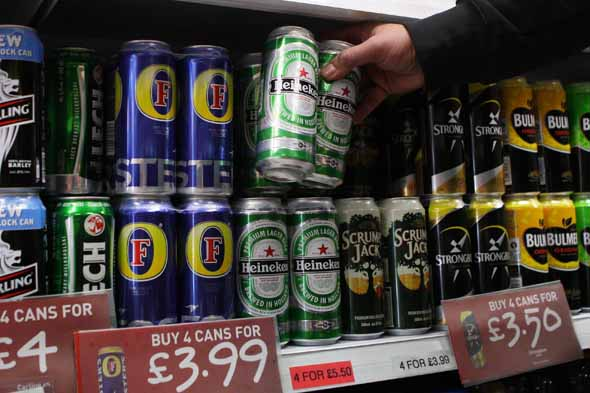 Parents giving alcohol to children as young as 10, says charity