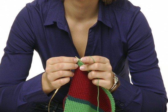 Why knitting is the me-time choice for today's busy mums