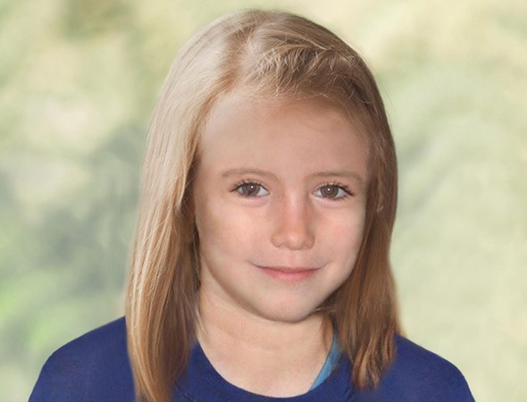 Madeline Mccann picture aged 9 possible likeness