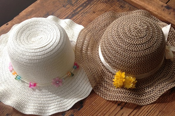 Terrible Twos: Hats off to (everyone else's) Easter bonnets