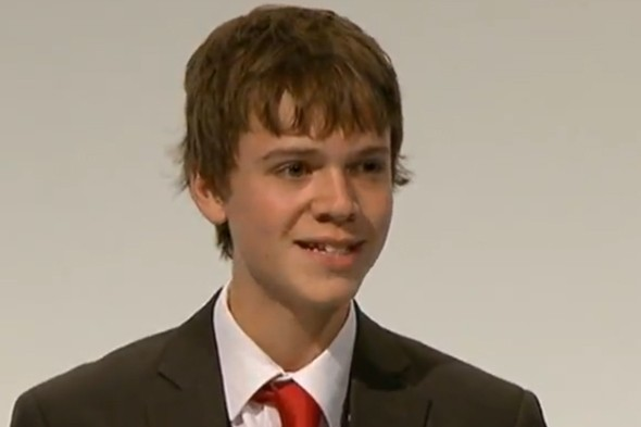 16-year-old given standing ovation at Labour party conference