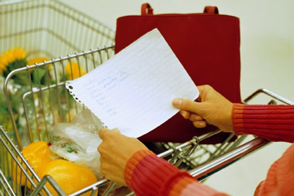 Surviving teenagers: Hopeless shopping lists