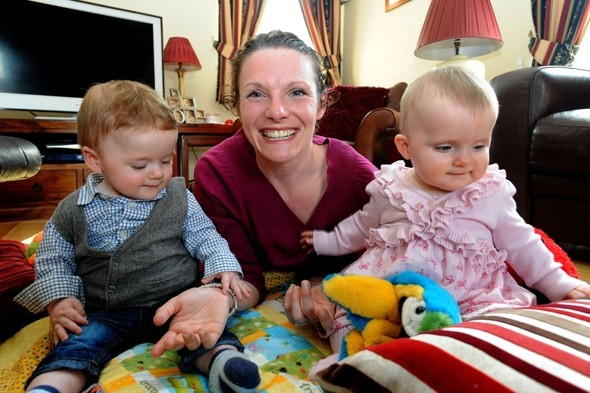 Mum survives four heart attacks and a stroke while giving birth to twins