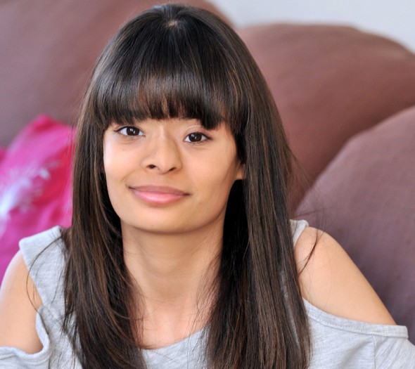 Teenager Tasha Jilka thought she had allergy to eye make-up - but it was cancer