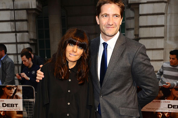 Claudia Winkleman and husband Kris Thykier