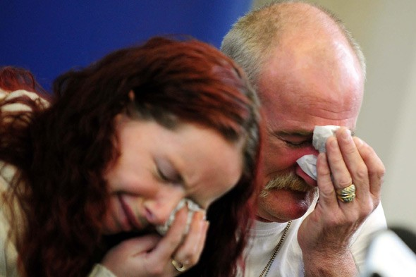 Mick Philpott and his wife Mairead