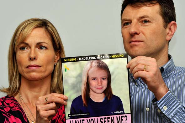 Three new clues in hunt for missing Madeleine McCann