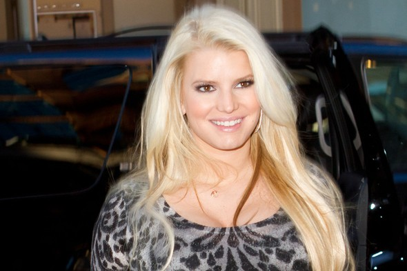 New mum Jessica Simpson