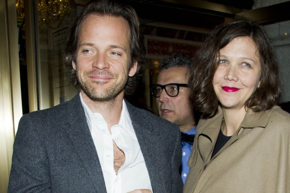 Maggie Gyllenhaal and husband Peter Sarsgaard