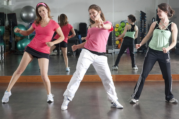 Zumba class
