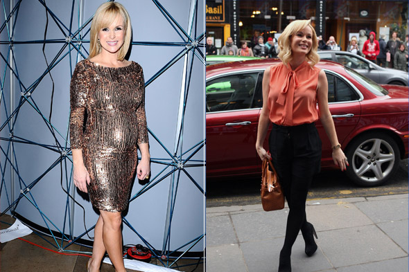 Celeb mums who pinged back into shape in double-quick time