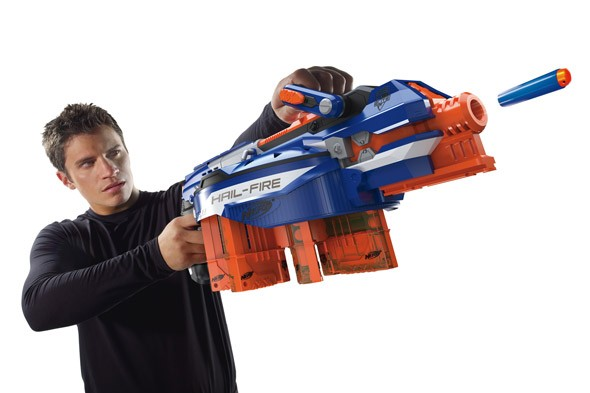 Nerf Elite Hail Fire