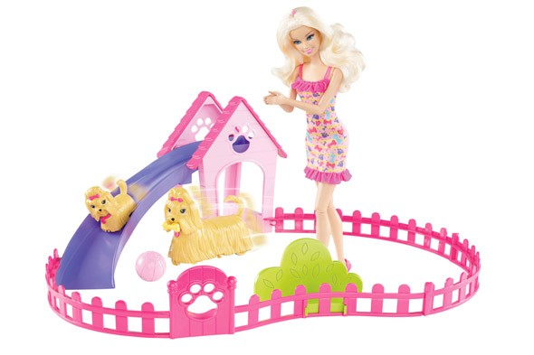 Barbie Puppy Play Park