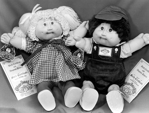 Cabbage Patch Kids are coming back from the Eighties