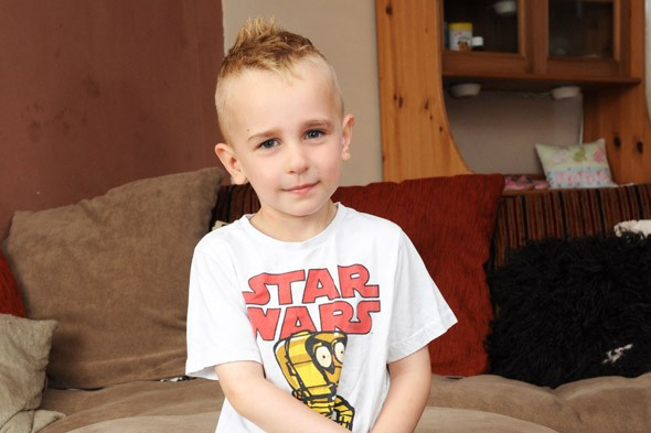 Boy, 4, banned from school because of his mohawk hair
