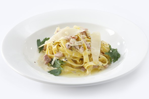 Feeding your family quickly and cheaply: Classic carbonara