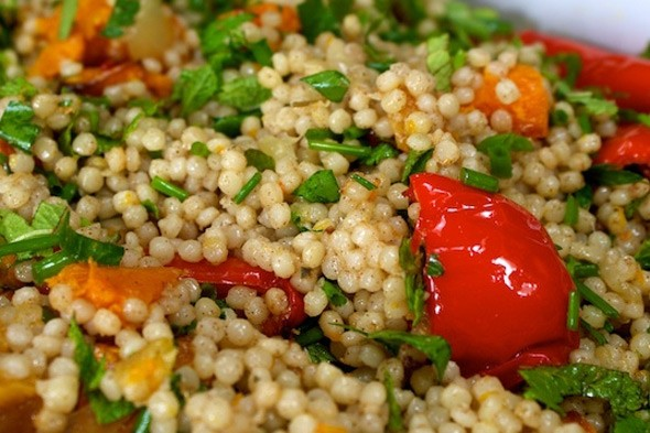 how to make turkish couscous