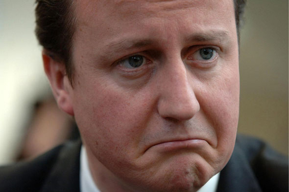 David Cameron distraught after leaving eight-year-old daughter in pub