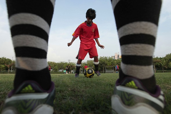 Why talking and playing football will give our children skills for life