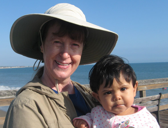 Mum who flew to India to have embryo implanted wants more children as her Indian baby turns two