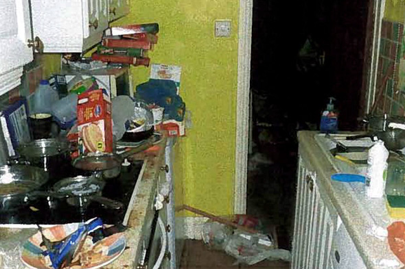 Mum and dad fined over squalid home they 'couldn't be bothered' to clean