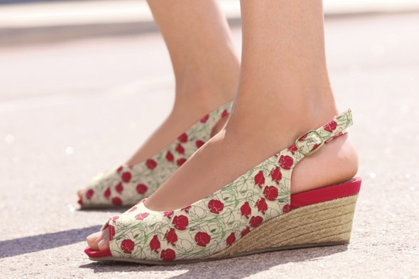 Floral Slingbacks from Next