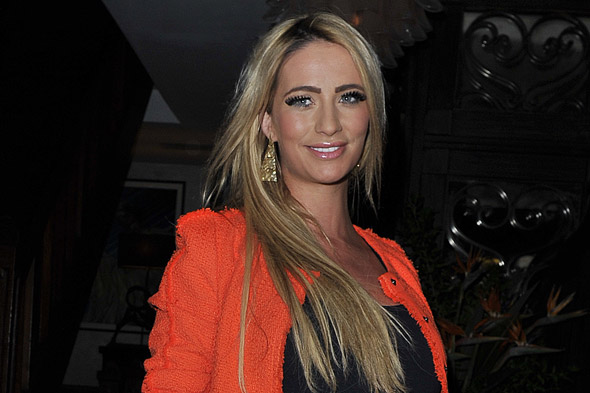 Chantelle Houghton on new baby daughter: 'I'm completely in love with her'
