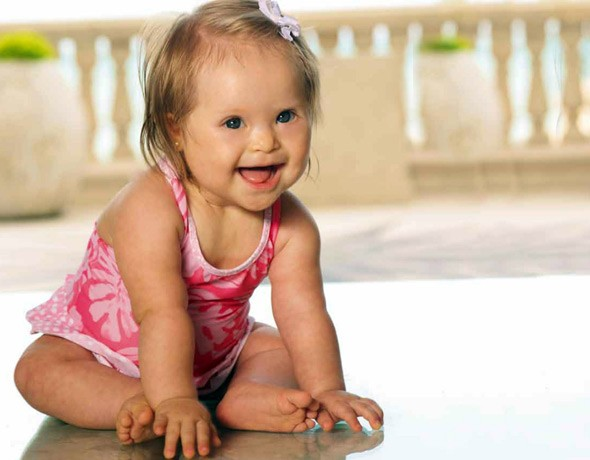 Baby girl with Down's syndrome becomes new face of major fashion campaign