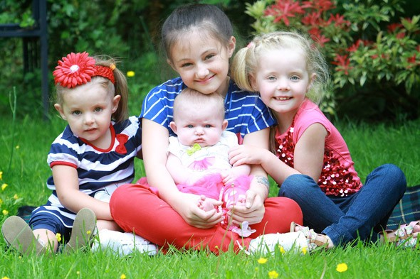 The tragedy of three sisters who will miss seeing their children grow up as they slowly lose their sight to a genetic disease