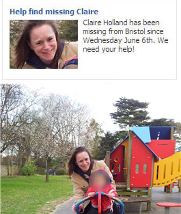 Facebook campaign launched for missing young mum