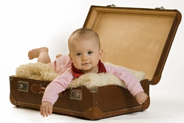 Taking your baby on holiday: Advice and information