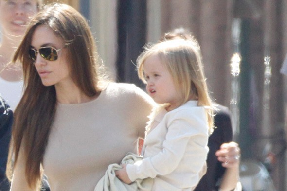 Angelina's daughter Vivienne lands a role in her new movie