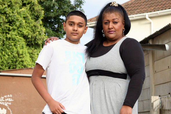 Mum tagged and put on curfew for taking her son out of school over bullying