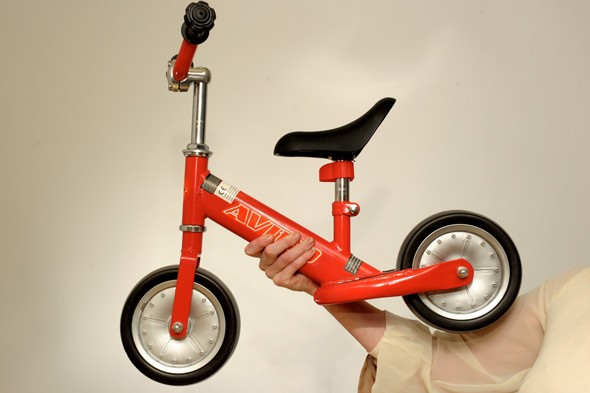 Housing bosses confiscate toddler's bike