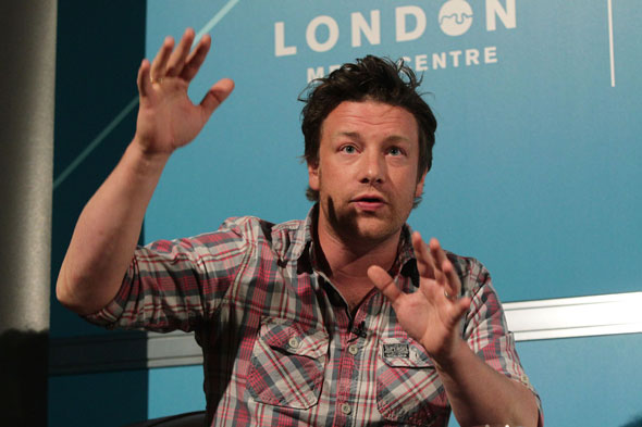 Jamie Oliver tells An Audience With that we are still doing badly in educating kids about healthy eating