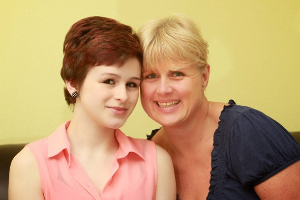 My 12-year-old daughter beat cancer to be my bridesmaid