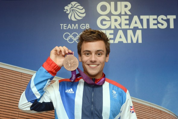 Olympic diver Tom Daley gets straight As in his A-levels