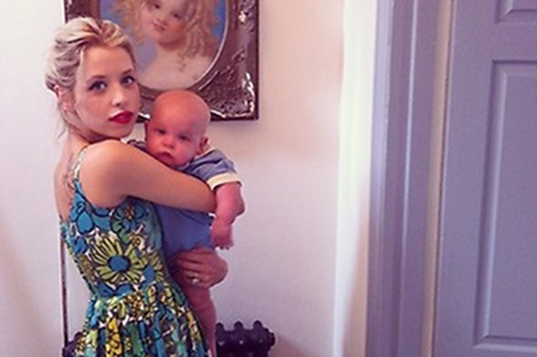 Peaches Geldof slams claims that she's too thin