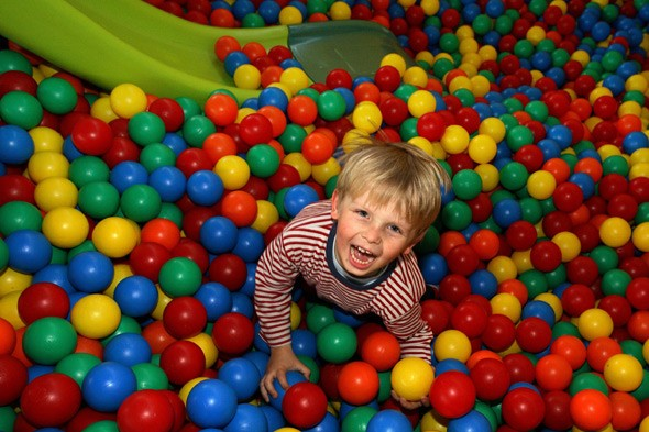 The soft play centre where dads are BANNED