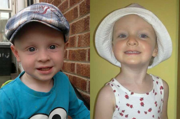 First pictures of toddlers killed after a car careered into their pushchairs