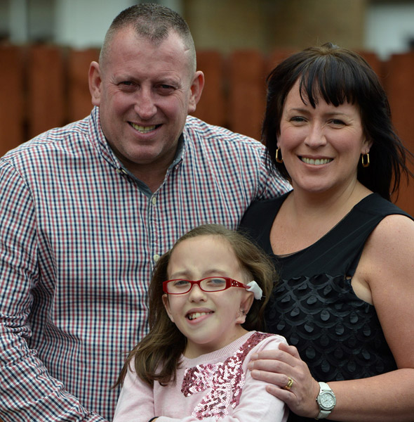Girl, 9, has ear rebuilt from her ribs!