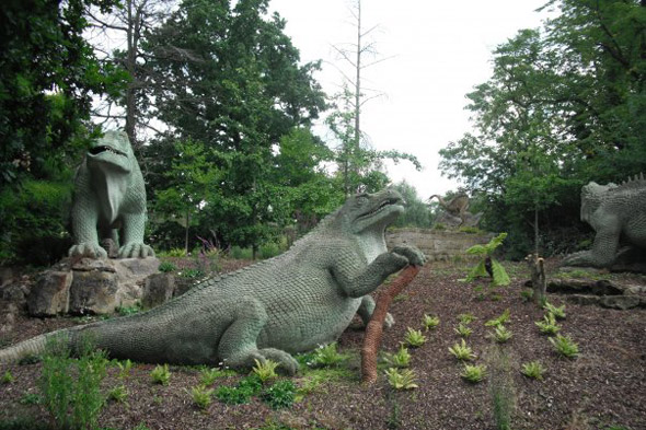 Meet the Crystal Palace dinosaurs