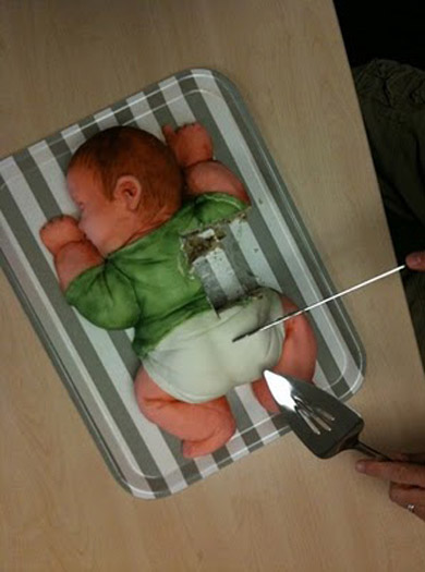 Baby Shower Cakes Bad Taste ~ Bizarre and seriously strange baby shower welcome to