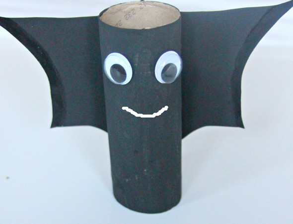 How to make a Halloween bat