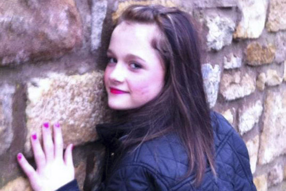 Girl, 12, died from massive asthma attack after having a shower