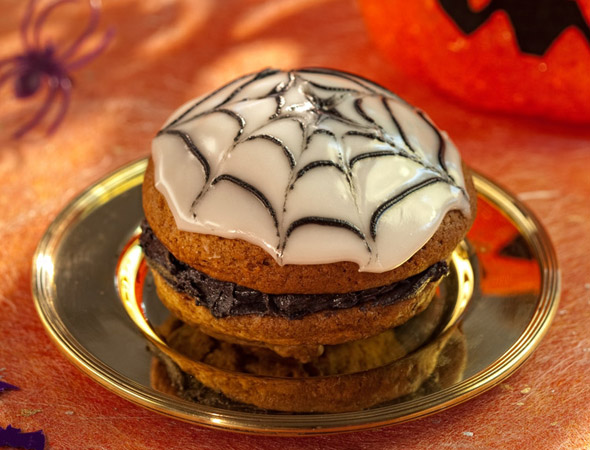 Halloween Spider Whoopies