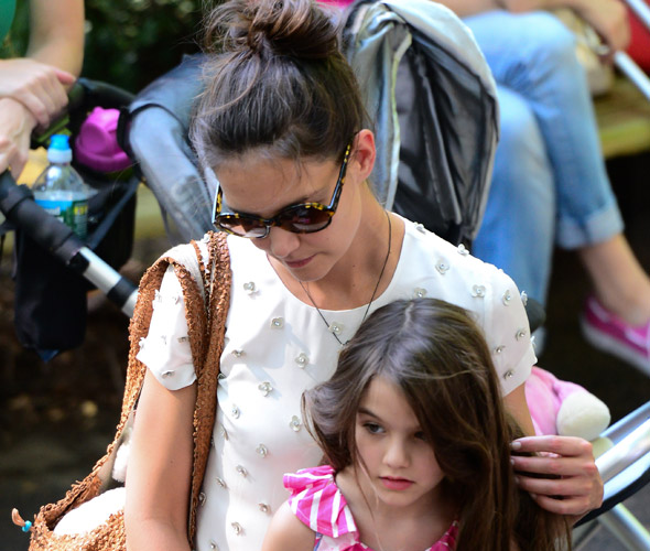Suri Cruise taking Mandarin lessons at swanky new school